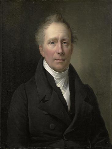 Portrait of Daniel Francis Schas Art Print