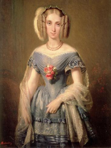 Louise-Marie D'Orleans (1812-50) Giclee Print