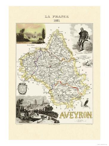 Aveyron Art Print