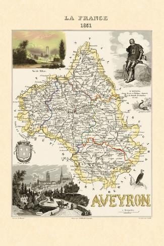 Aveyron Wall Decal