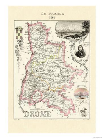 Drome Art Print