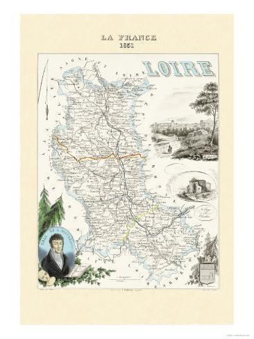 Loire Art Print