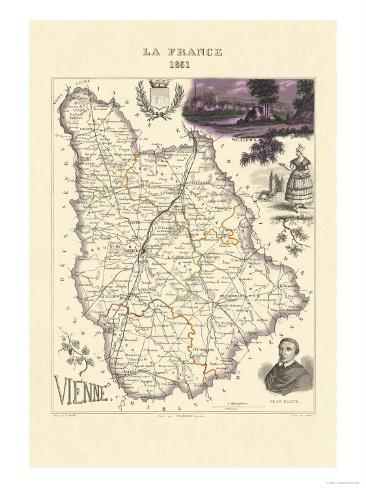 Vienne Art Print