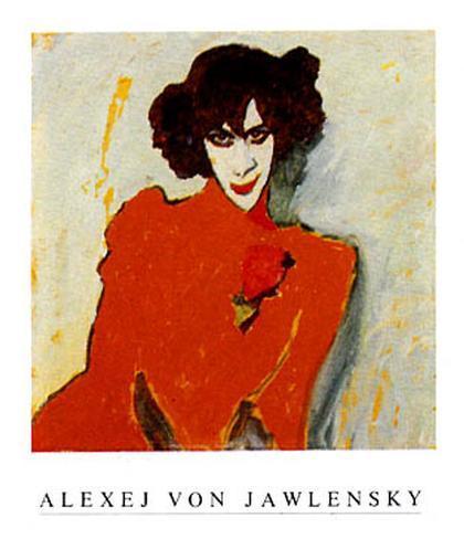 Bildnis Alexander Sacharoff Art Print