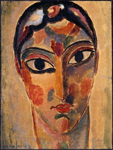 Mystical Head: Head Ascona Lámina giclée