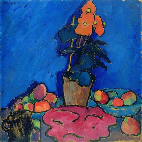 Still Life with Begonia, 1911 Giclee Print