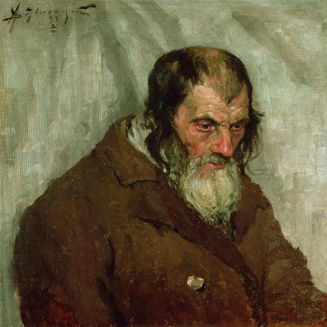 The Old Jew, 1893 Giclee Print