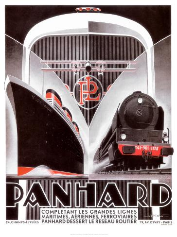 Panhard Lines Art Print