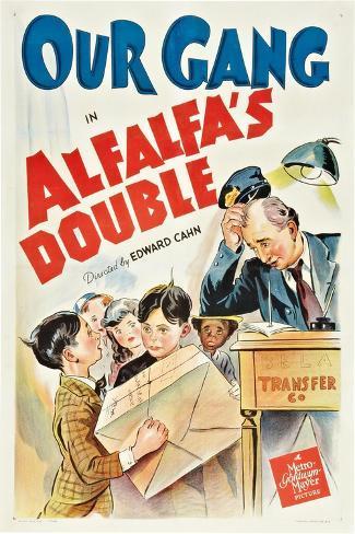 Alfalfa's Double Impressão artística