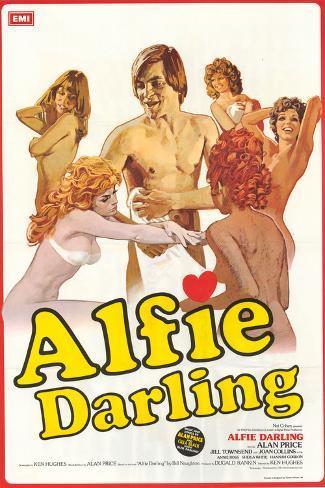 Alfie Darling Art Print