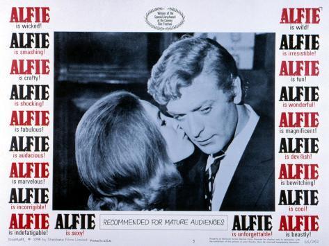 Alfie, Michael Caine, 1966 Photo