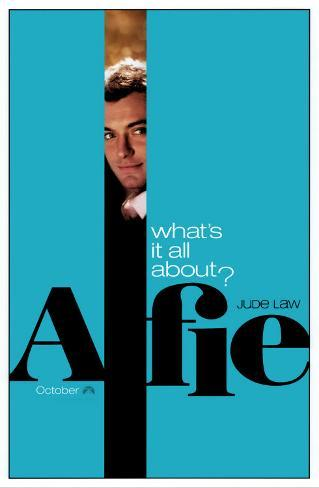 Alfie Original Poster