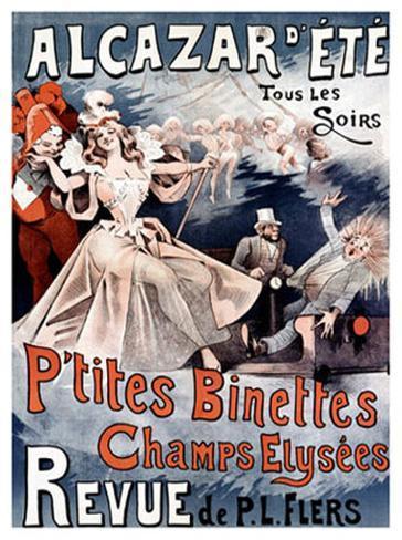 Alcazar d'Ete, P'Tites Binettes Giclee Print