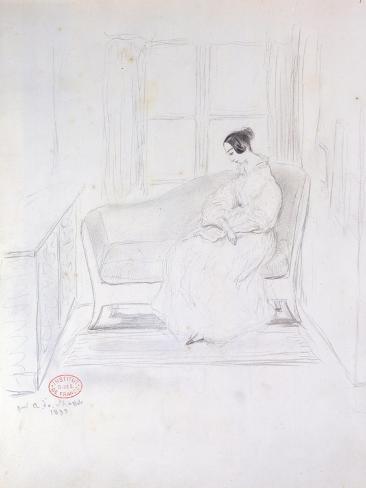George Sand Giclee Print