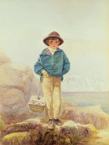 Young England - a Fisher Boy Giclee Print