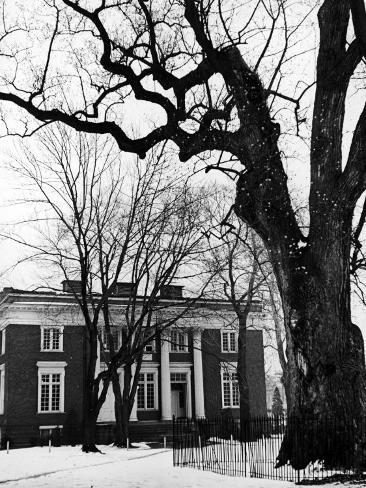 Building on Campus of St. John's College, Annapolis, Maryland Photographic Print