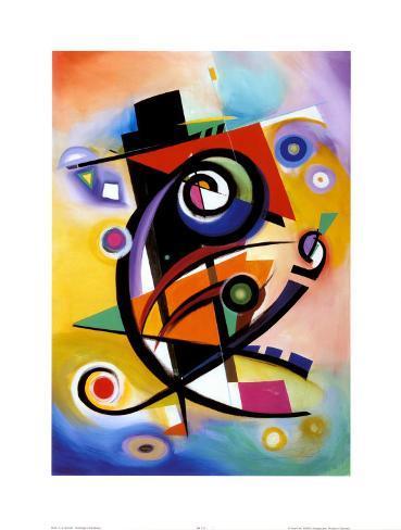 Homage to Kandinsky Konstprint