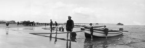 Rowing Boat Rides Impressão fotográfica
