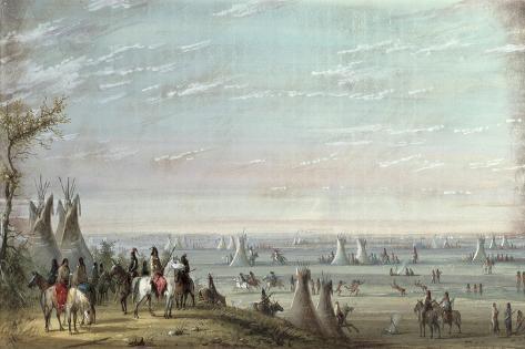 Rendezvous, 1837 Stampa giclée