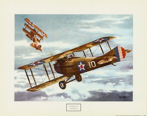 French Spad, 1916 Framed Art Print