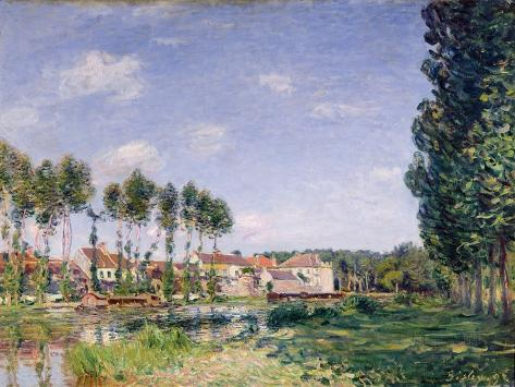 Banks of the Loing, Moret, 1892 Giclee Print