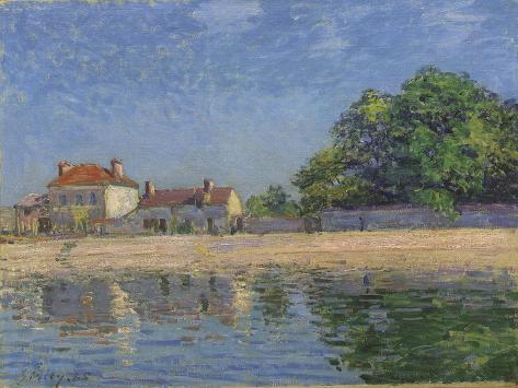 The Banks of the Loing, Saint-Mammes, 1885 Giclee Print