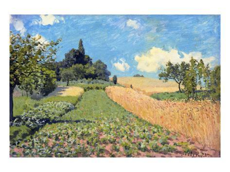 The Cornfield (Near Argenteuil) Giclee Print