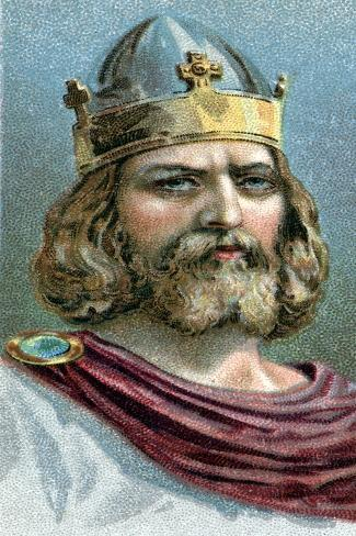 Alfred the Great (849-89), Anglo-Saxon King of Wessex from 871 ...