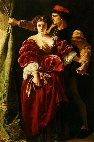 Lucrezia Borgia, 1863 Lámina giclée