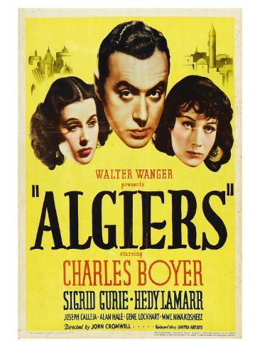Algiers, 1938 Art Print