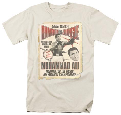 Ali-Rumble Poster T-Shirt