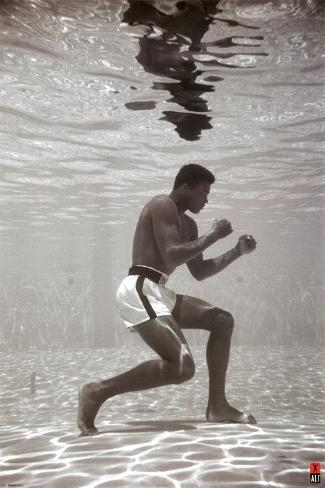 Ali - Underwater Poster