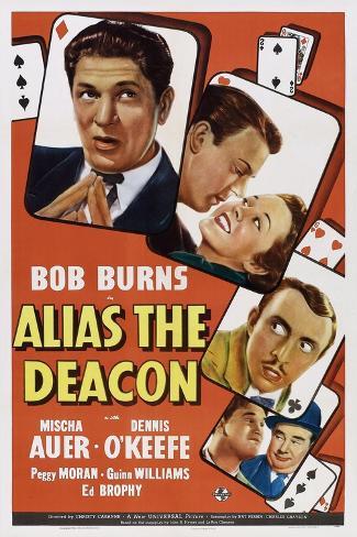Alias the Deacon, 1940 Art Print
