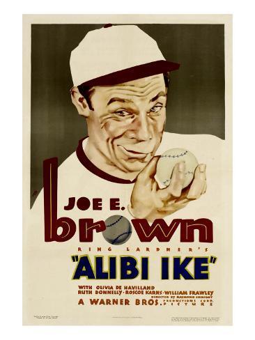 Alibi Ike, Joe E. Brown, 1935 Photo