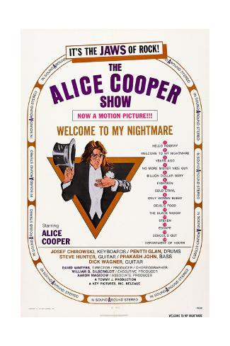 Alice Cooper: Welcome to My Nightmare Giclee Print