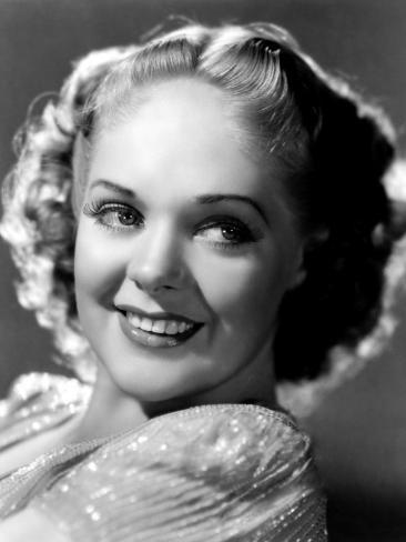 Alice Faye, 1937 Photo