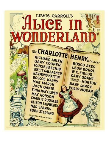 Alice in Wonderland, 1933 Photo