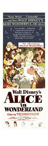 Alice in Wonderland, 1951 Konstprint