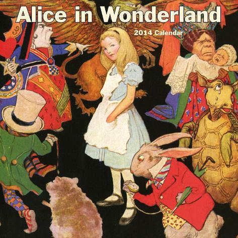 Alice in Wonderland - 2014 Calendar Calendars