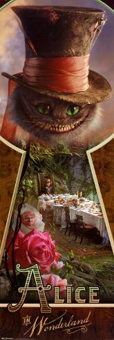 Alice in Wonderland Door Poster