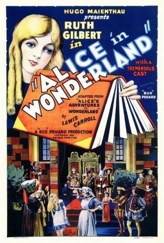 Alice in Wonderland Masterprint