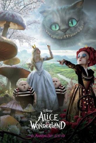 Alice no País das Maravilhas Pôster dupla face