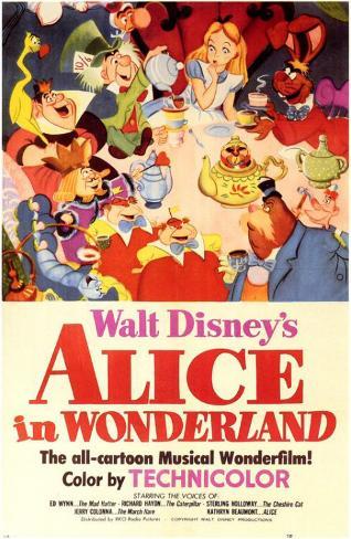 Alice no País das Maravilhas Impressão original