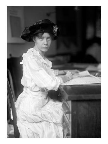 Alice Paul, 1915 Photo