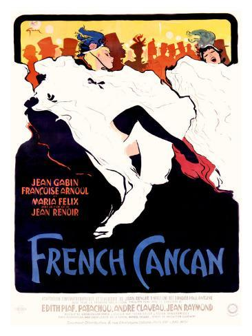 French Cancan Giclee Print