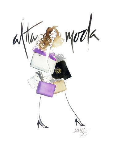 Alta Moda Purple Stampa artistica