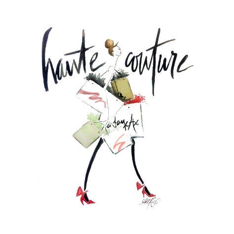Haute Couture 2 Art Print