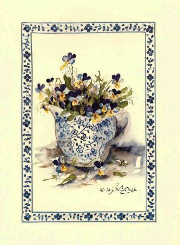 Pansies II Art Print