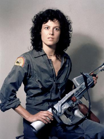 Alien 1979 Directed by Ridley Scott Avec Sigourney Weaver 写真