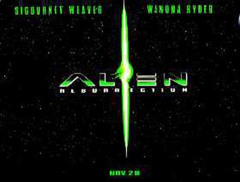 Alien: A Resurreição Pôster original